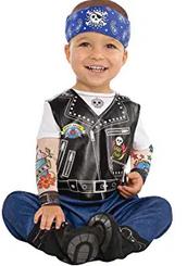 disfraz niñol moto